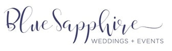 BLUE SAPPHIRE WEDDINGS + EVENTS
